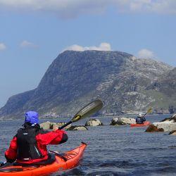 sea kayaking on the west coast of Harris