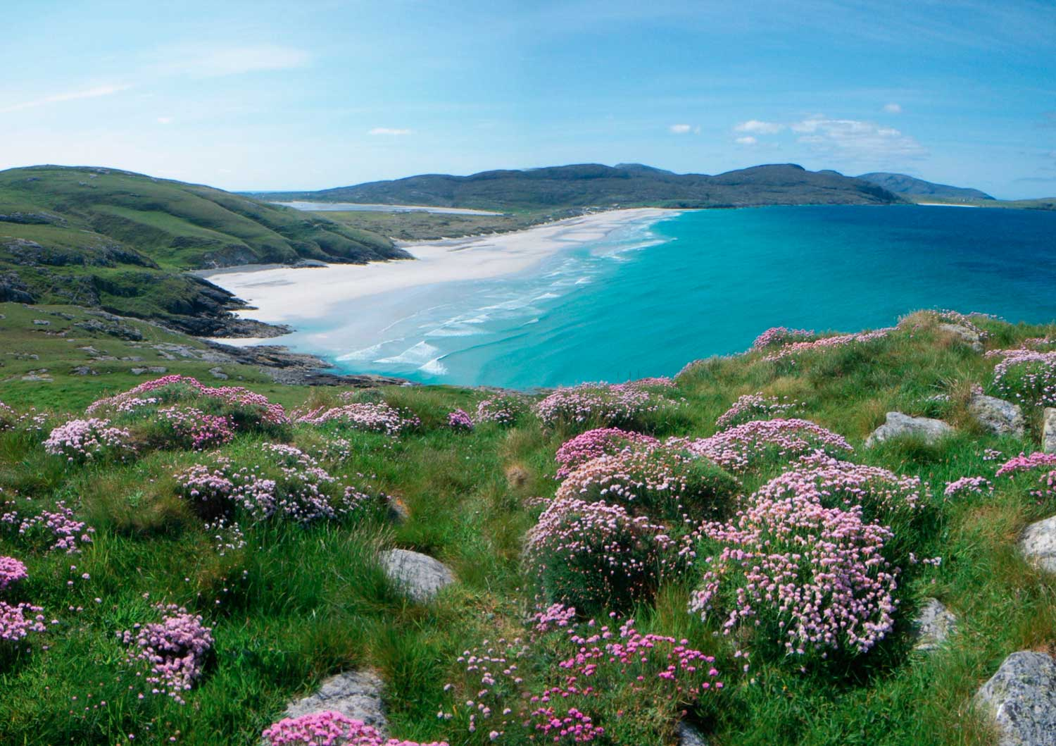 Traigh Eais beach, Isle of Barra