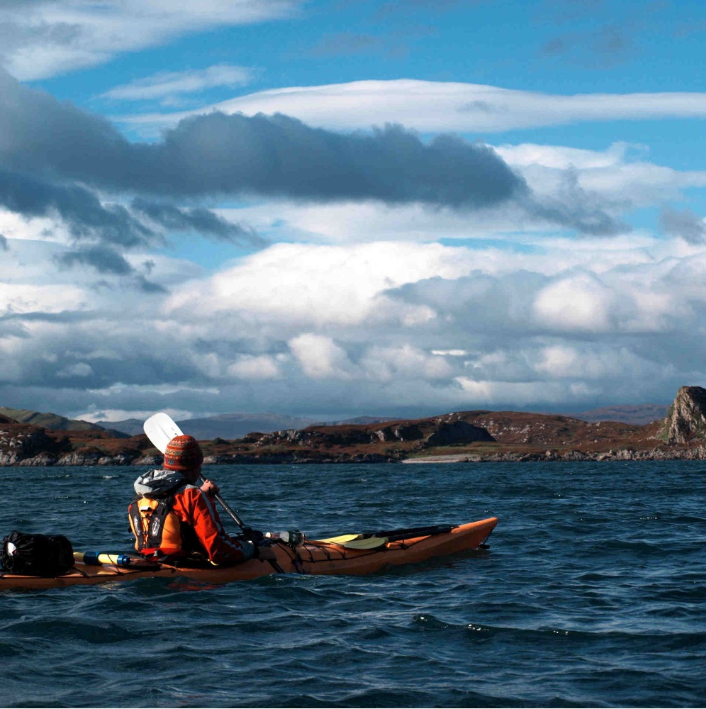 sea kayak holidays Mull