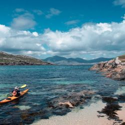 exploring islands by sea kayak