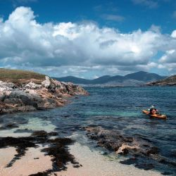 kayaking the coast