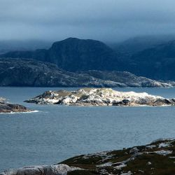fjords and mountains on Harris