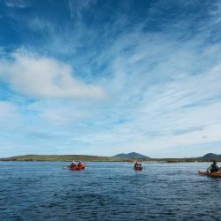 exploring sea lochs by kayak