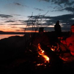 wild camping in the Inner Hebrides